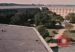 Image of center court of Pentagon Arlington Virginia USA, 1972, second 7 stock footage video 65675075762