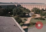 Image of center court of Pentagon Arlington Virginia USA, 1972, second 9 stock footage video 65675075762