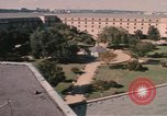 Image of center court of Pentagon Arlington Virginia USA, 1972, second 10 stock footage video 65675075762