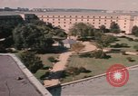 Image of center court of Pentagon Arlington Virginia USA, 1972, second 11 stock footage video 65675075762