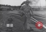 Image of Army Service Forces moving troops and equipment by railroad United States USA, 1944, second 2 stock footage video 65675075792
