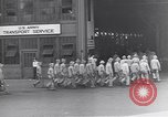 Image of Transport ships being loaded with troops and supplies for invasion task force United States USA, 1944, second 6 stock footage video 65675075793