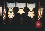 Image of Pentagon Hall of Heroes nameplates Arlington Virginia USA, 1968, second 4 stock footage video 65675075828