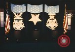 Image of Pentagon Hall of Heroes nameplates Arlington Virginia USA, 1968, second 11 stock footage video 65675075828