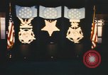 Image of Pentagon Hall of Heroes nameplates Arlington Virginia USA, 1968, second 12 stock footage video 65675075828