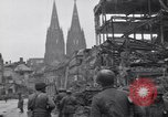 Image of 3rd Armored Division Cologne Germany, 1945, second 9 stock footage video 65675075885
