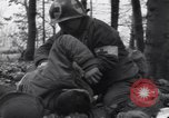 Image of wounded soldier Kollerschlag Germany, 1945, second 8 stock footage video 65675075891