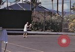 Image of tennis match Honolulu Hawaii USA, 1945, second 9 stock footage video 65675075916