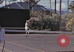 Image of tennis match Honolulu Hawaii USA, 1945, second 10 stock footage video 65675075916