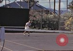 Image of tennis match Honolulu Hawaii USA, 1945, second 11 stock footage video 65675075916
