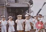 Image of British ship Atlantic Ocean, 1945, second 1 stock footage video 65675075920