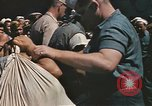 Image of Japanese prisoners leave captured submarines Pacific Theater, 1945, second 3 stock footage video 65675075961