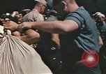 Image of Japanese prisoners leave captured submarines Pacific Theater, 1945, second 5 stock footage video 65675075961