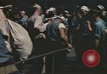 Image of Japanese prisoners leave captured submarines Pacific Theater, 1945, second 8 stock footage video 65675075961