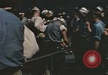 Image of Japanese prisoners leave captured submarines Pacific Theater, 1945, second 9 stock footage video 65675075961