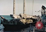 Image of Japanese sailing junk Pacific Ocean, 1945, second 3 stock footage video 65675075965