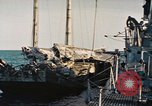 Image of Japanese sailing junk Pacific Ocean, 1945, second 9 stock footage video 65675075965
