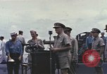 Image of Fleet Admiral Chester William Nimitz Guam, 1945, second 3 stock footage video 65675075994