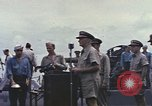 Image of Fleet Admiral Chester William Nimitz Guam, 1945, second 4 stock footage video 65675075994
