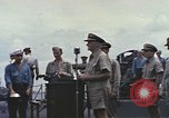 Image of Fleet Admiral Chester William Nimitz Guam, 1945, second 5 stock footage video 65675075994