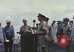 Image of Fleet Admiral Chester William Nimitz Guam, 1945, second 6 stock footage video 65675075994