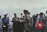 Image of Fleet Admiral Chester William Nimitz Guam, 1945, second 7 stock footage video 65675075994