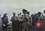 Image of Fleet Admiral Chester William Nimitz Guam, 1945, second 8 stock footage video 65675075994