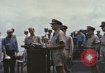 Image of Fleet Admiral Chester William Nimitz Guam, 1945, second 9 stock footage video 65675075994