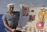 Image of USS Crevalle Pacific Ocean, 1945, second 6 stock footage video 65675076021