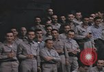 Image of US Naval officers pose at Yokosuka Submarine Base Yokosuka iJapan, 1945, second 10 stock footage video 65675076033