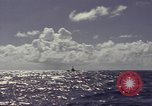 Image of bow of submarine underway Pacific Ocean, 1977, second 10 stock footage video 65675076051