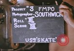 Image of USS Skate Pacific Ocean, 1945, second 2 stock footage video 65675076053