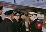 Image of Admiral CM Cook Kiangwan Shanghai, 1946, second 8 stock footage video 65675076067