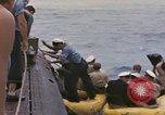 Image of USS Cod rescues crew of Dutch submarine in South China Sea Spratly Islands, 1945, second 3 stock footage video 65675076086