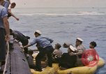 Image of USS Cod rescues crew of Dutch submarine in South China Sea Spratly Islands, 1945, second 9 stock footage video 65675076086