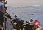 Image of USS Cod rescues crew of Dutch submarine in South China Sea Spratly Islands, 1945, second 10 stock footage video 65675076086