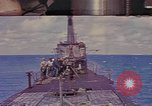 Image of American submarine Pacific Ocean, 1945, second 1 stock footage video 65675076096