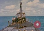 Image of American submarine Pacific Ocean, 1945, second 5 stock footage video 65675076096