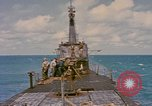 Image of American submarine Pacific Ocean, 1945, second 8 stock footage video 65675076096