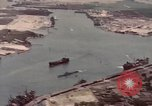 Image of US Navy vessels moving in Pearl Harbor on VJ Day Hawaii USA, 1945, second 6 stock footage video 65675076115