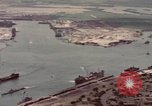 Image of US Navy vessels moving in Pearl Harbor on VJ Day Hawaii USA, 1945, second 8 stock footage video 65675076115