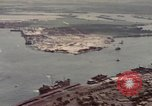 Image of US Navy vessels moving in Pearl Harbor on VJ Day Hawaii USA, 1945, second 9 stock footage video 65675076115