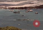 Image of VJ Day  being celebrated by US submarines at Pearl Harbor Hawaii USA, 1945, second 4 stock footage video 65675076117