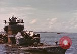 Image of Remains of Japanese destroyer Okinami Philippines, 1945, second 2 stock footage video 65675076119