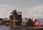Image of Remains of Japanese destroyer Okinami Philippines, 1945, second 10 stock footage video 65675076119