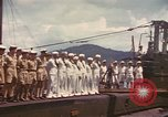 Image of British submarine, HMS Supreme Pacific Ocean, 1945, second 6 stock footage video 65675076121