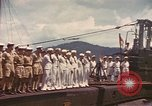 Image of British submarine, HMS Supreme Pacific Ocean, 1945, second 9 stock footage video 65675076121