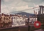 Image of British submarine, HMS Supreme Pacific Ocean, 1945, second 10 stock footage video 65675076121