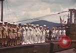 Image of British submarine, HMS Supreme Pacific Ocean, 1945, second 11 stock footage video 65675076121