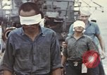 Image of Blindfolded Japanese Prisoners of War Pacific Theater, 1944, second 2 stock footage video 65675076125
